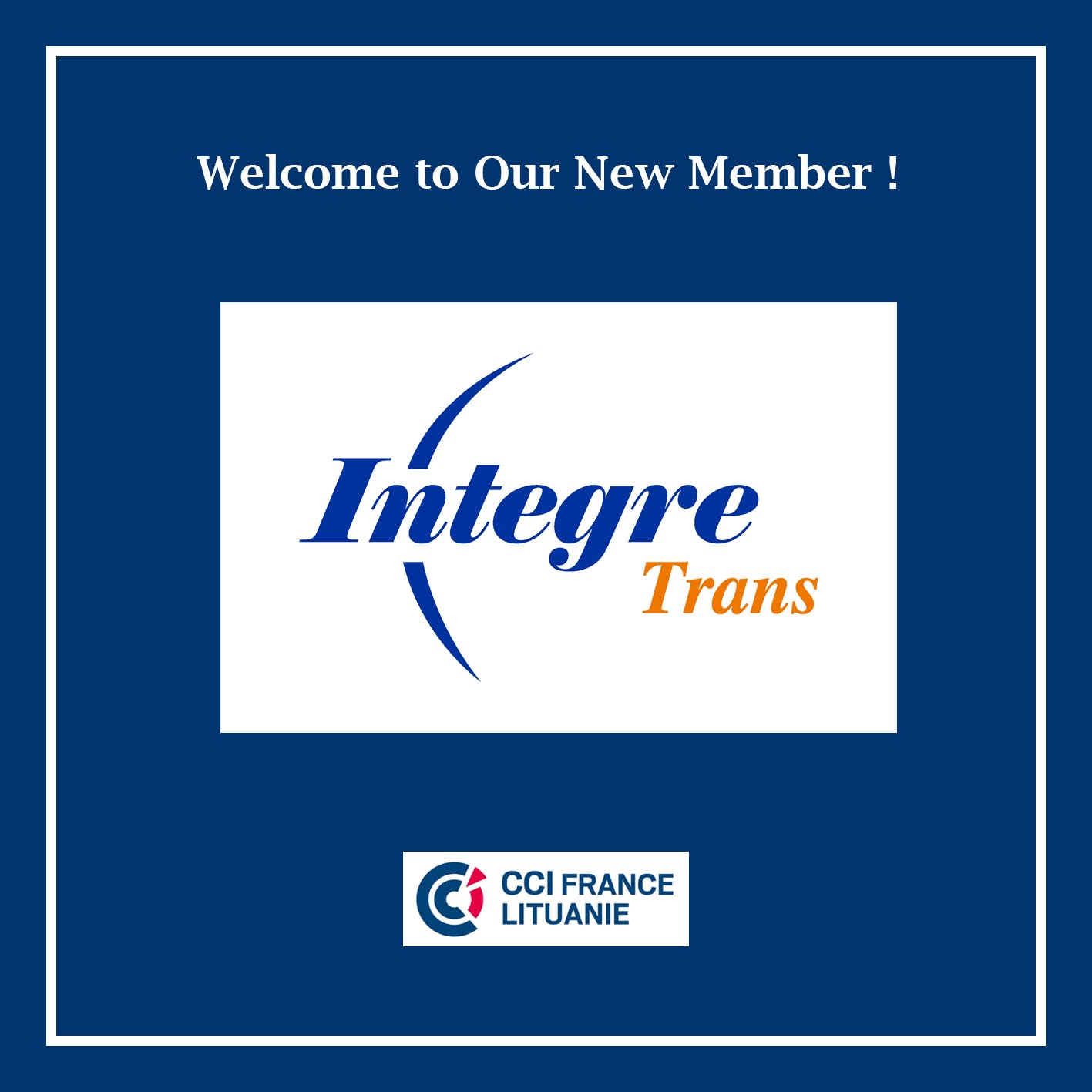 Welcome New Member – Integre Trans!