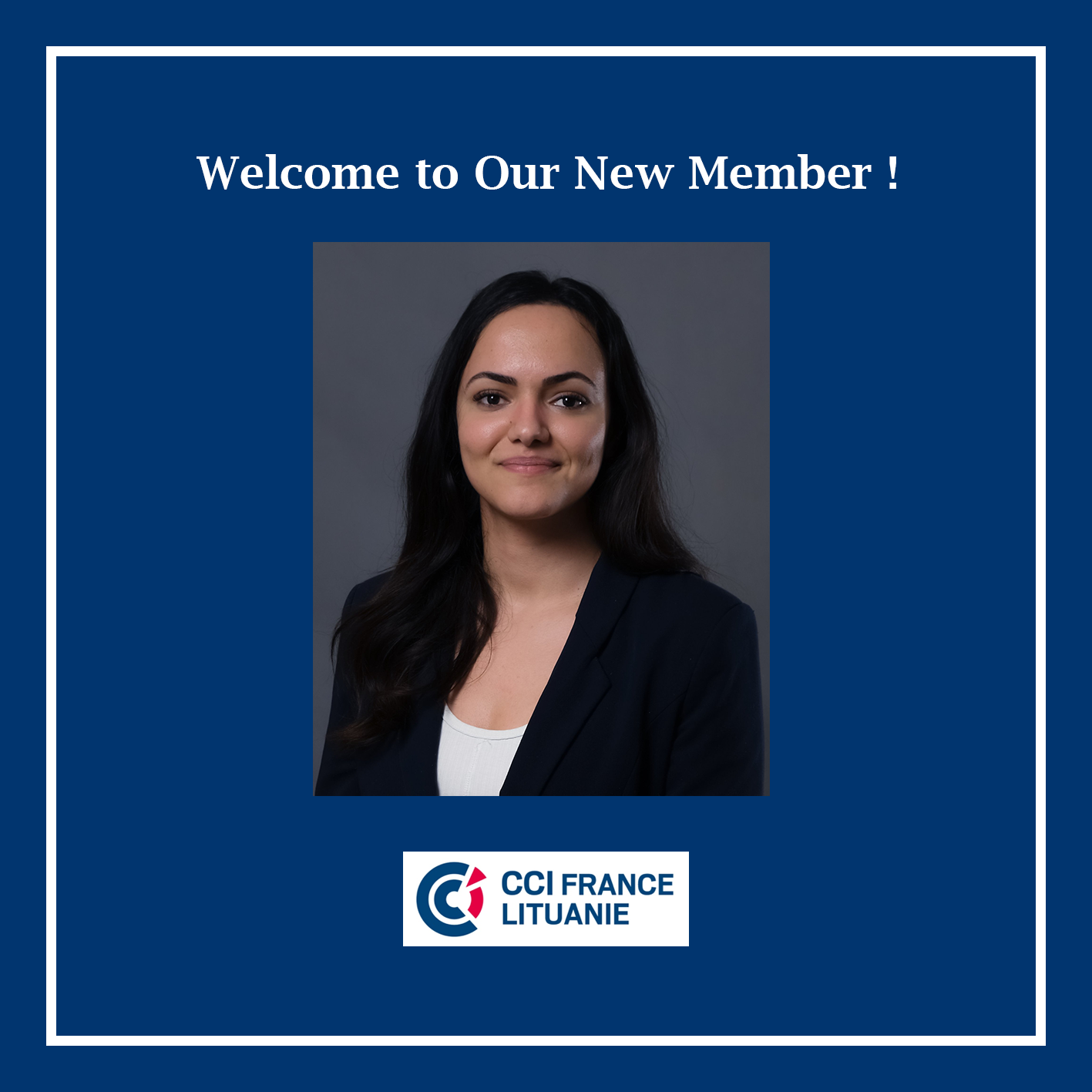 Welcome to Our New Member – Oumi Idrissi!