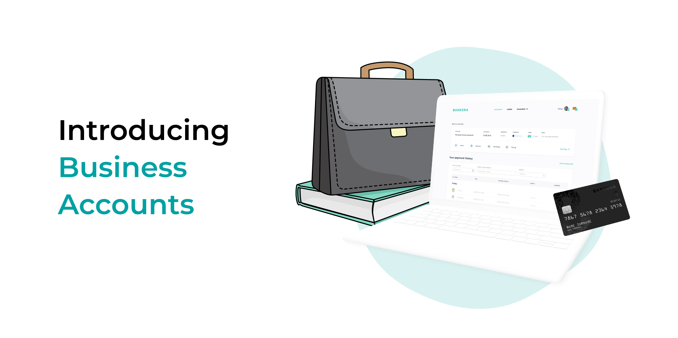 BANKERA is introducing Business Accounts !