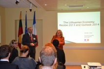 Special event by CCFL & French Embassy in Lithuania – Lithuanian Macroeconomics: Review 2013, Outlook 2014